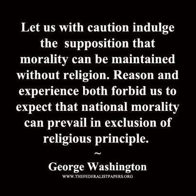 George washington religion