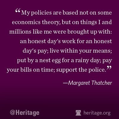 thatcher policy