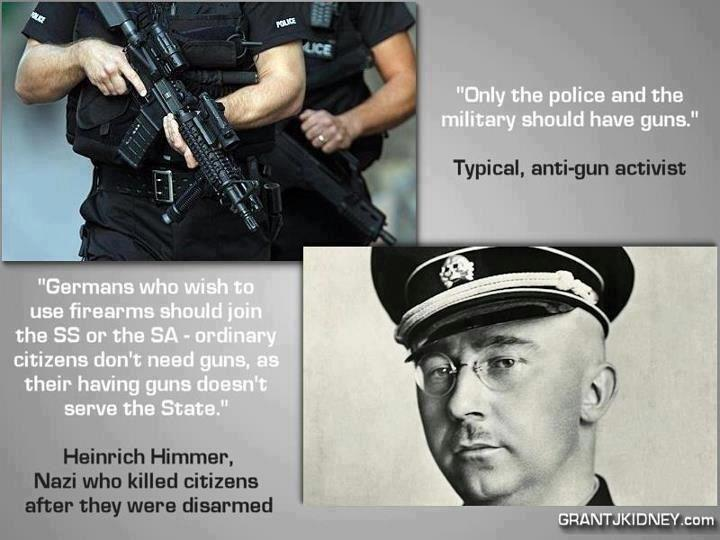 Himmler on Guns