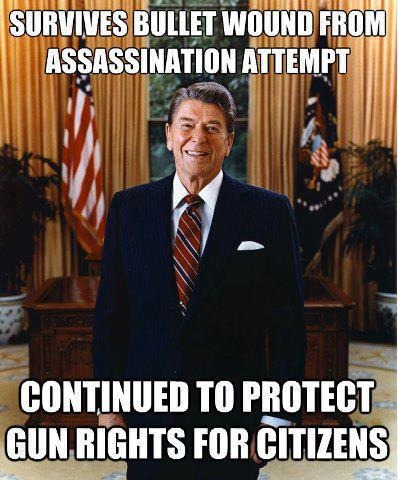 Reagan gun rights