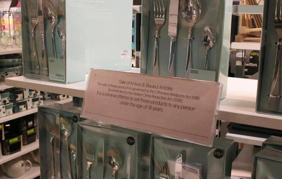 british butter knives