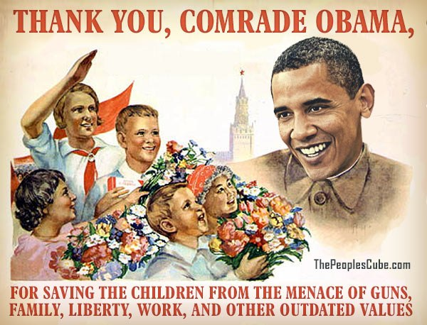 comrade obama saves children