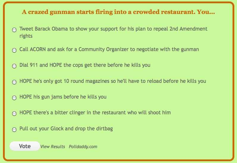 crazed gunman quiz