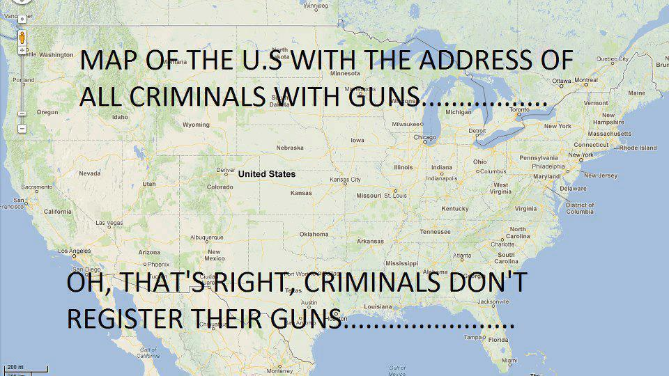 criminals guns
