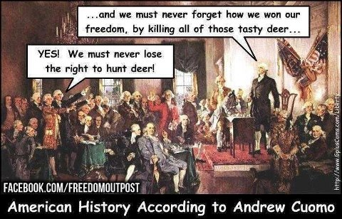 deer hunting founding fathers