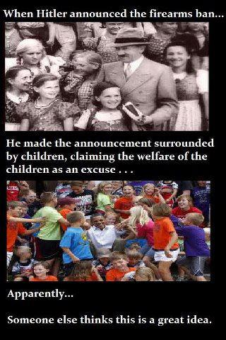 hitler guns children
