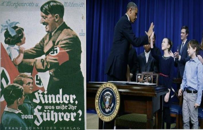 hitler obama children