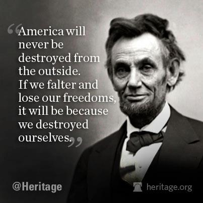 lincoln lose freedoms