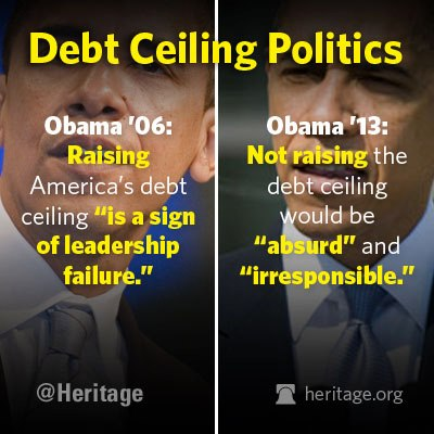 two faced debt cieling