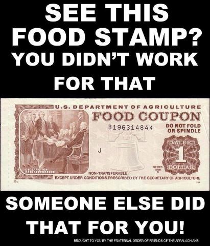 you didn't work for foodstamp