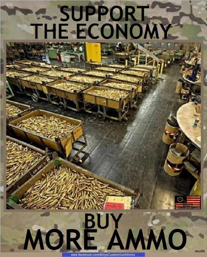 buy more ammo