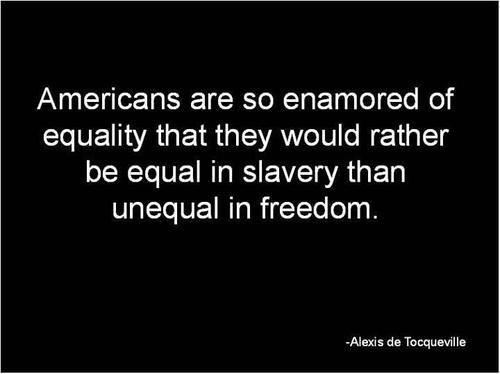 equality in slavery