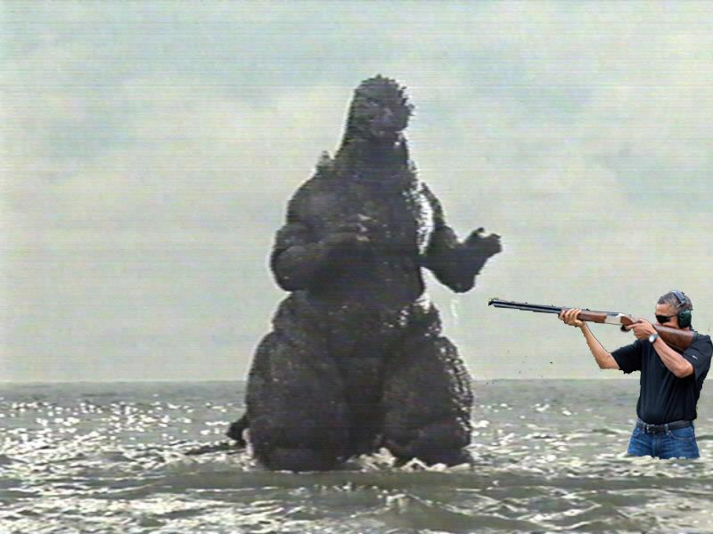 godzilla vs obama