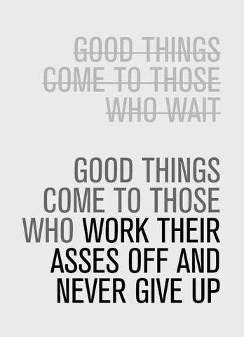 good things and work