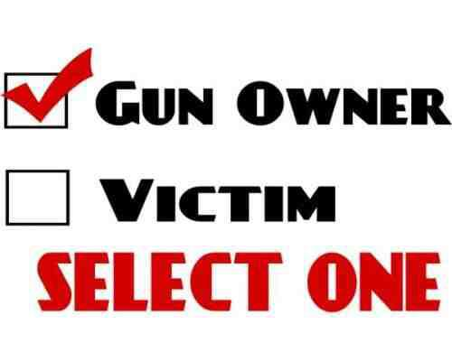 gun owner vs victim