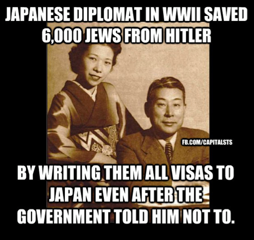 japanese saved jews