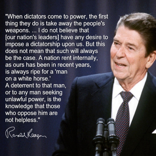 reagan on dictators