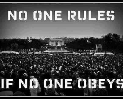 rules or obeys
