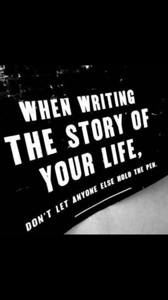 writing the story of your life