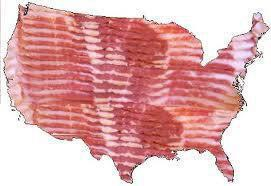 bacon states of america