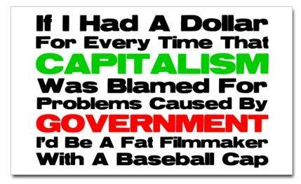 capitalism was blamed