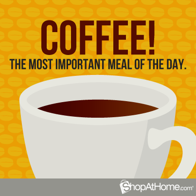 coffee meal of the day