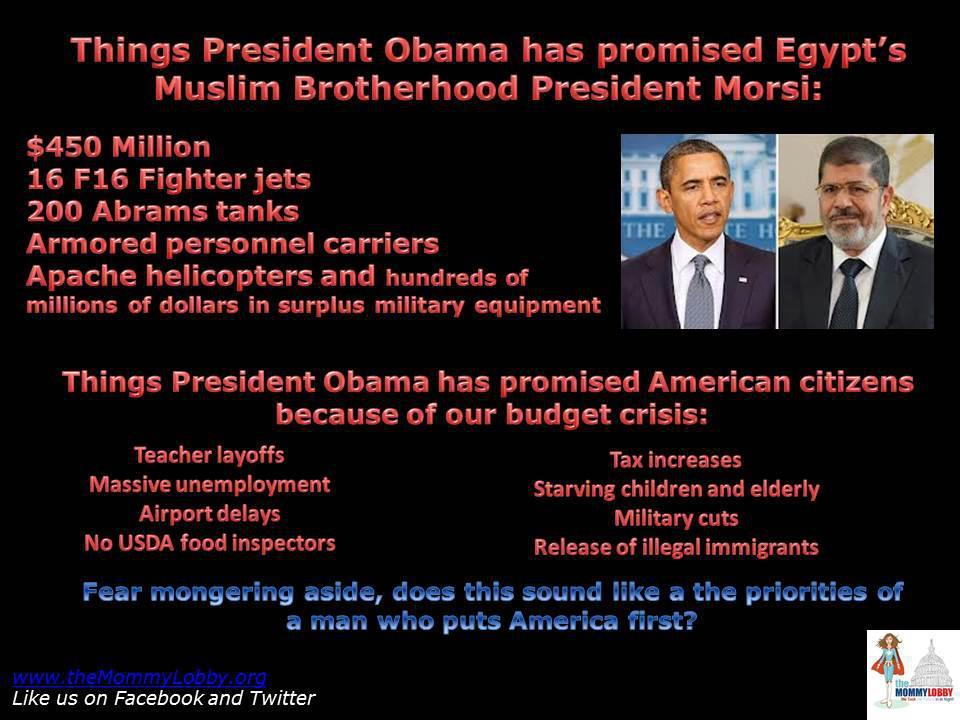 obama pays muslim brotherhood