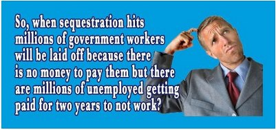 sequester unemployment