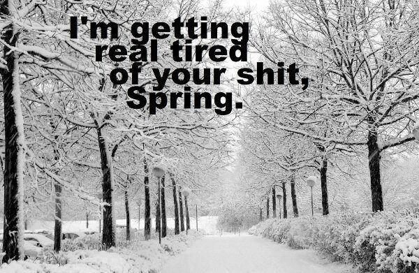spring cold