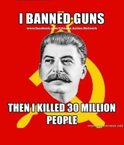 stalin banned guns