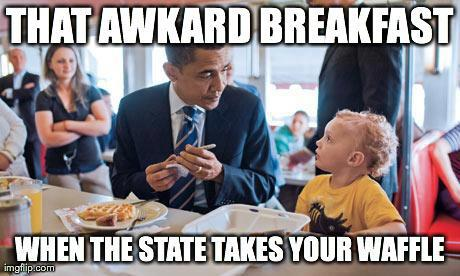 state takes your waffle
