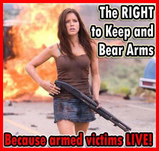 armed victims live