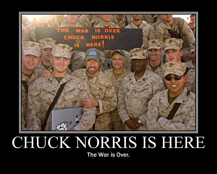 chuck norris is here