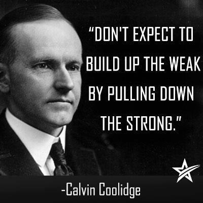 coolidge on the stront