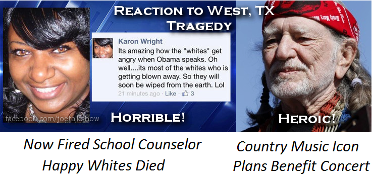 reaction to west texas