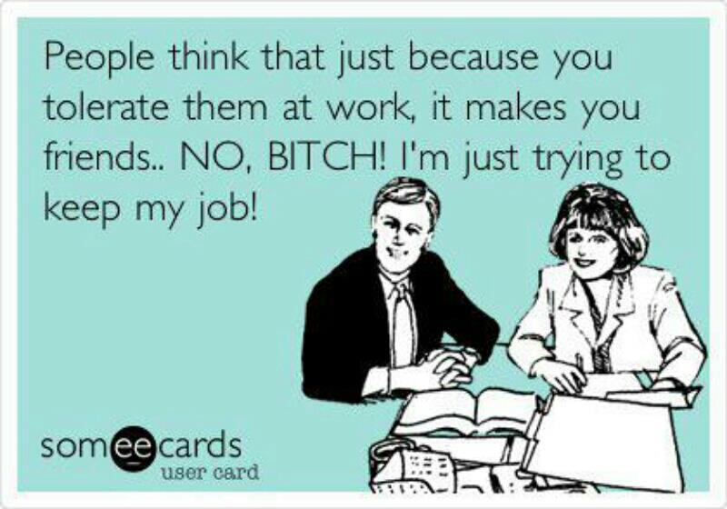 tolerate at work