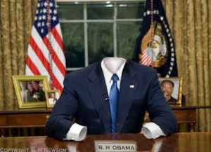 empty suit oval office
