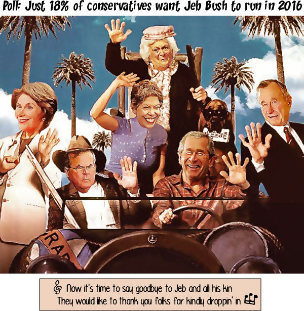 """""""Yes, they broke the law, but it's not a felony. It's an act of love."""" – Jeb Bush on illegal immigrants"""