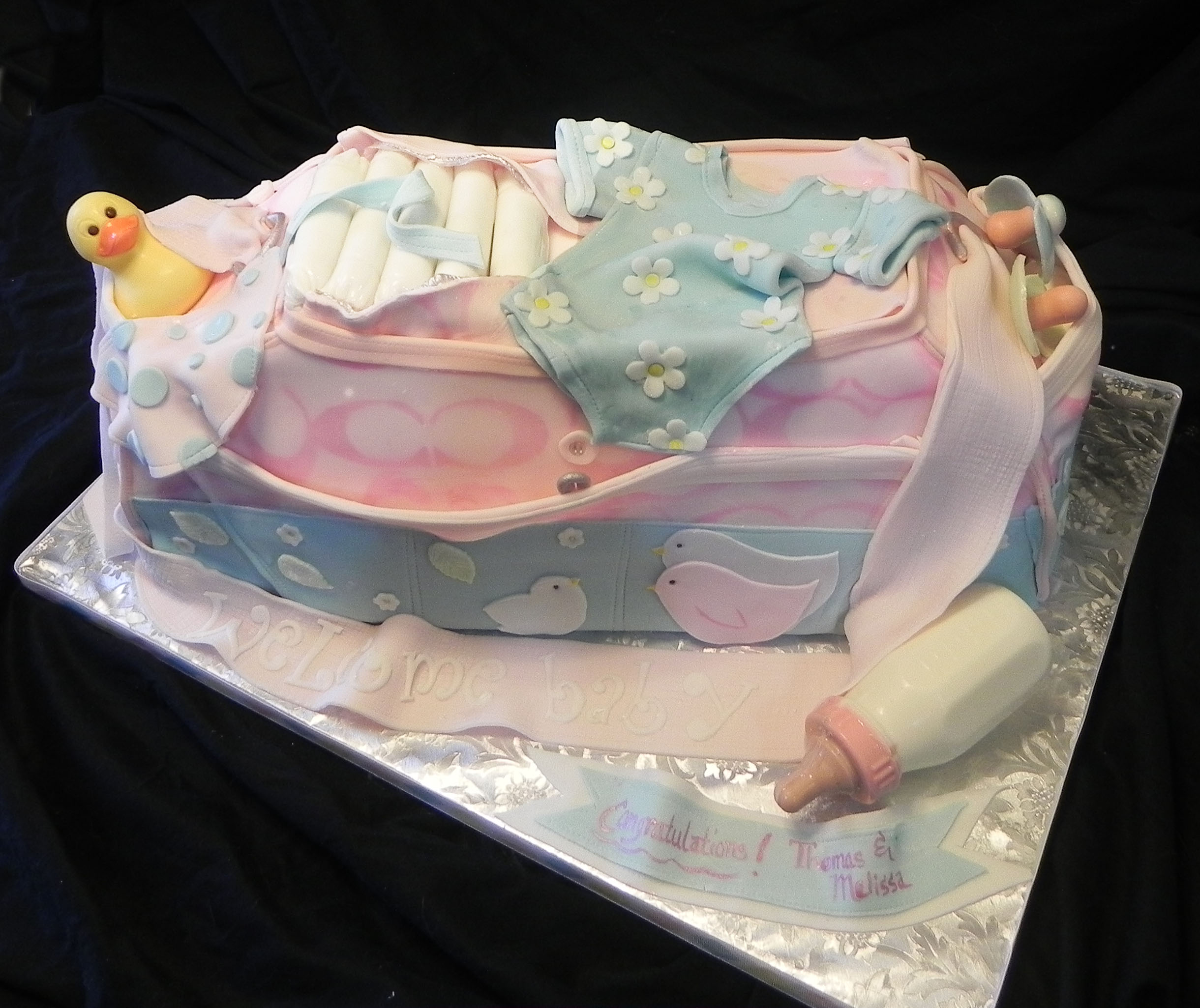 ... Spouse Creates Incredible Military Art With Cake Batter & Fondant
