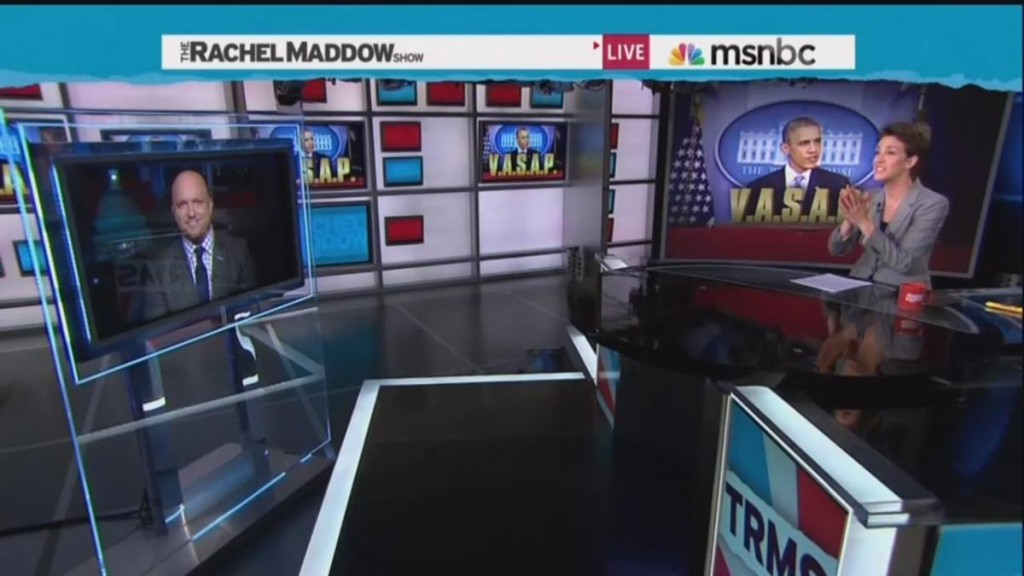 The Rachel Maddow Show - Averages Less Than 200,000 Viewers
