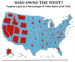 federally owned lands