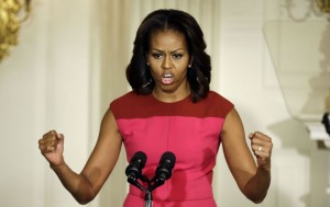 Michelle obama promises black voters a fried chicken in every pot