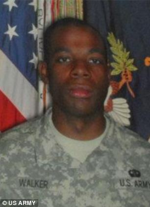 Private First Class Morris Walker, 23, also killed in an IED explosion on August 18, 2009