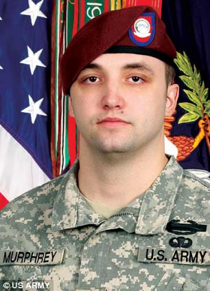Staff Sergeant Michael Murphrey, 25, was killed in an IED blast on September 5, 2009