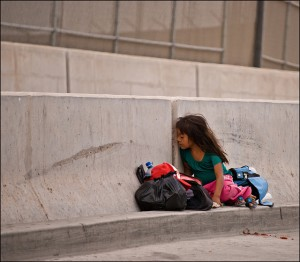 Thousands of children, here illegally, face the world alone for the first time in their lives.