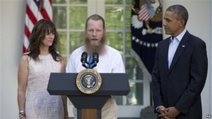 Robert & Jani Bergdahl and President Obama