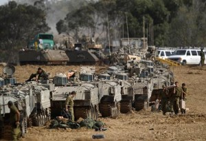 idf preparing for ground assault on gaza strip 003