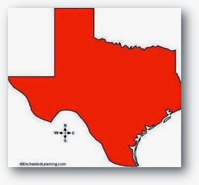 Map of Texas Gun Owners in Red Dots