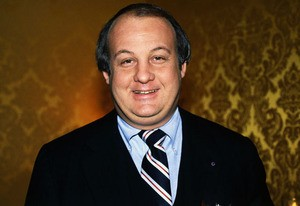 Portrait of Press Secretary James Brady Smiling