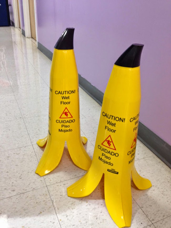 funny caution signs